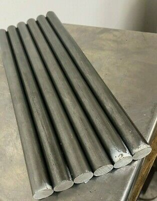 12l14 Steel Bar Stock 34 In .750 Round X 12 6 Piece Lot