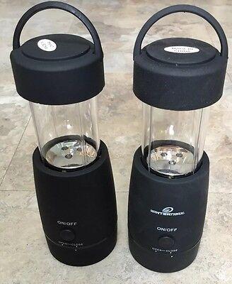 Set of 2 Pop-Up 3in1 LED Lantern Lights Black
