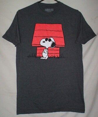 Peanuts Snoopy Joe Cool T Shirt Size S Dog House Comic Cartoon