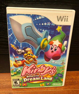 Kirby's Return to Dream Land  (Nintendo Wii, 2011) CIB Complete FREE SHIPPING