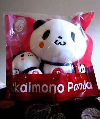 Viber Rakuten Panda Okaimono Panda Plush Dolls Very Rare Outside Japan