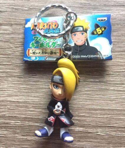 Deidara Figure Keychain by Banpresto Japan Offical Anime Naruto