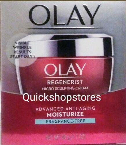 Olay Regenerist Micro-Sculpting Cream  Fragrance Free  1.7 F