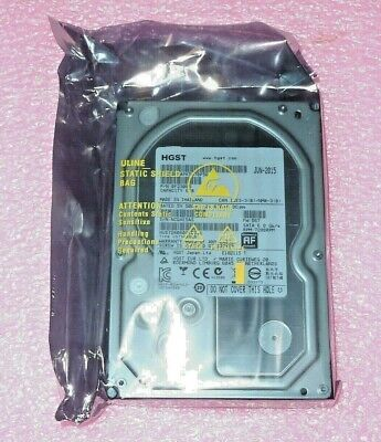 HGST 6TB 128MB cache Ultrastar 7K6000 12Gb/s 6Gb/s SATA hard drive HDD 12 gb/s