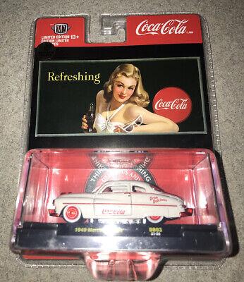 M2 Machines Coca-Cola 1949 Mercury Coupe Red Chase 1 of 750 Rare VHTF 2021