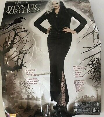 Mystic Sorceress Witch Dress adult womens Halloween costume Medium Large Sexy](Adult Sorceress Costume)