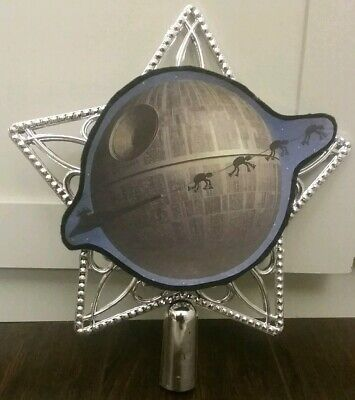 Star Wars Death Star At-AT Christmas Tree Topper Ornament top Starwars Deathstar