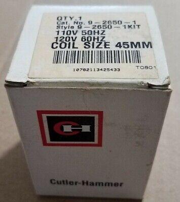 Cutler Hammer Coil 9-2650-1kit Coil 110v 50hz 120 60hz 45mm