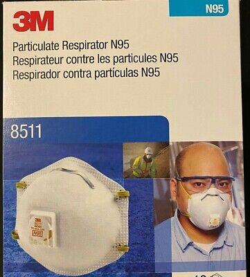 3M8511 N grade 95 w/Cool Flow Brand New (2 pc units))