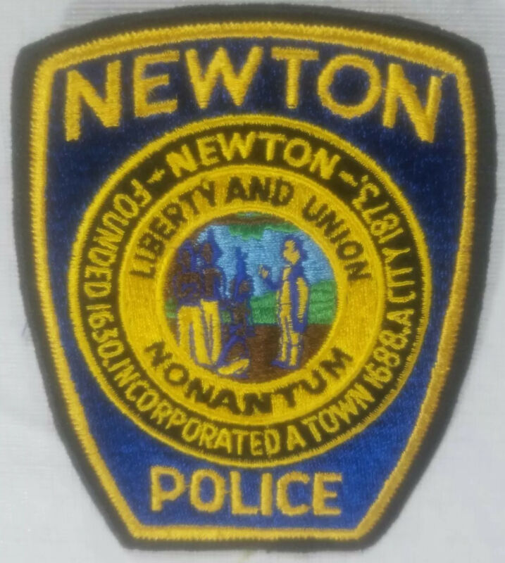 Newton Massachusetts Police Department Patch