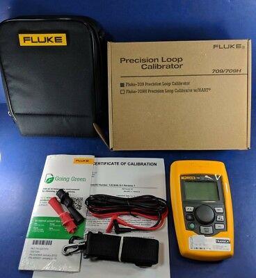 New Fluke 709 Precision Loop Calibrator Calibrated Original Box