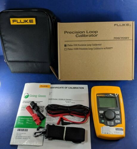 New Fluke 709 Precision Loop Calibrator, Calibrated, Original Box