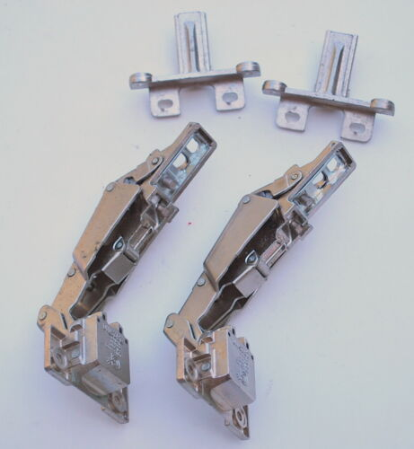 LOT of TWO (2) GRASS 1203 2625110 Cabinet Hinge With detached Baseplate