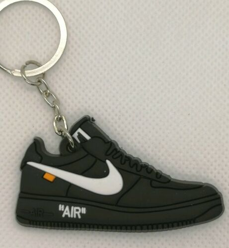 Porte clés nike air force 1 low off white black