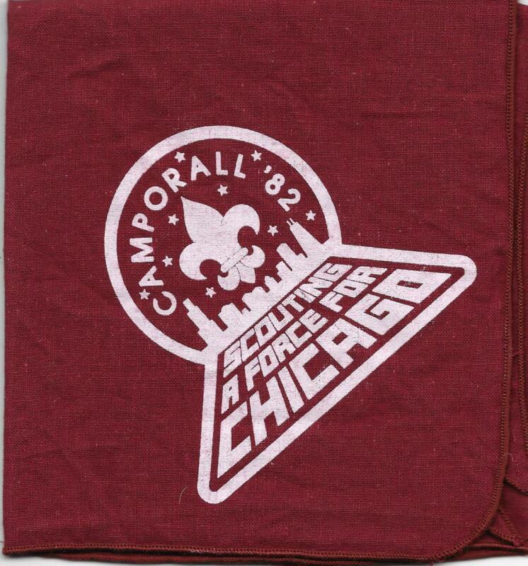 1982 Star Wars Camporall Chicago Area Council Neckerchief Boy Scouts of America