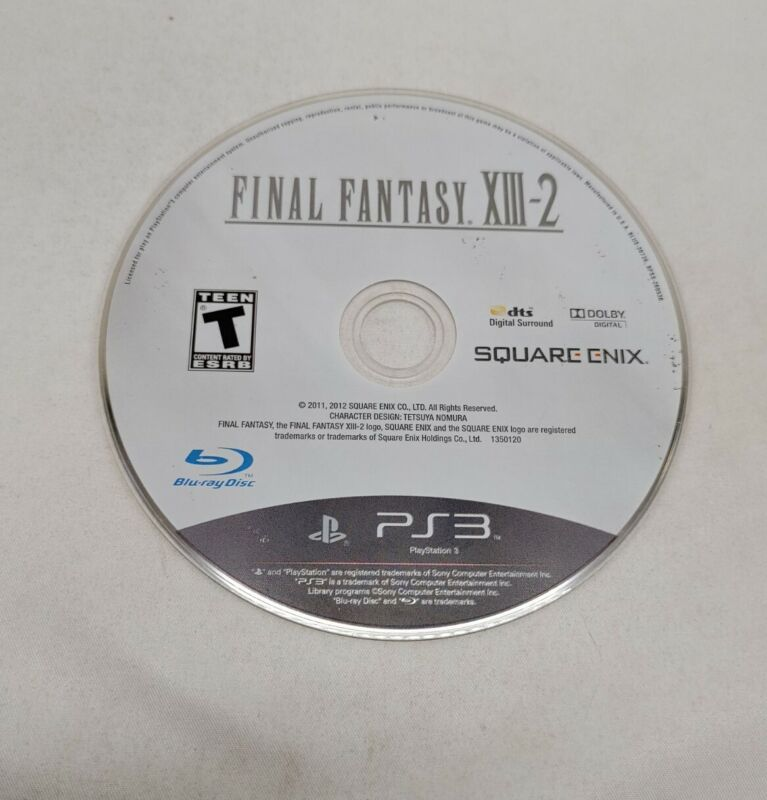 Final Fantasy XIII-2 Sony PlayStation 3 PS3 Console Game TESTED