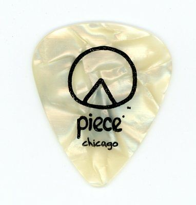 "Cheap Trick Rick Nielsen Extremely Rare ""Piece"" Guitar Pick Chicago Pizza Picks"