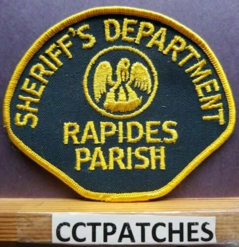 RAPIDES PARISH, LOUISIANA SHERIFF (POLICE) SHOULDER PATCH LA
