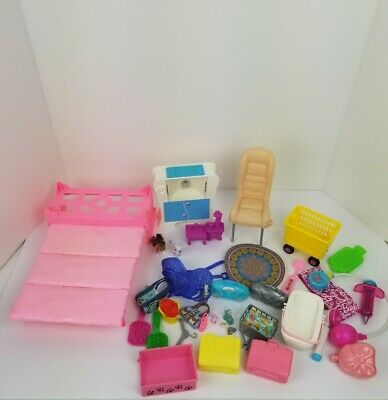 Barbie Lot Of Furniture And Accessories
