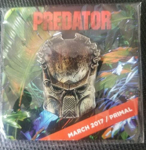Loot Crate DX PREDATOR Pin Bio-Mask PRIMAL EXCLUSIVE March 2017