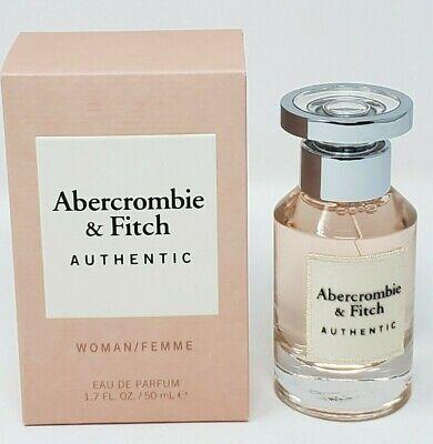 Abercrombie & Fitch Authentic Perfume For Women 1.7 oz / 50 ml Edp Spray New