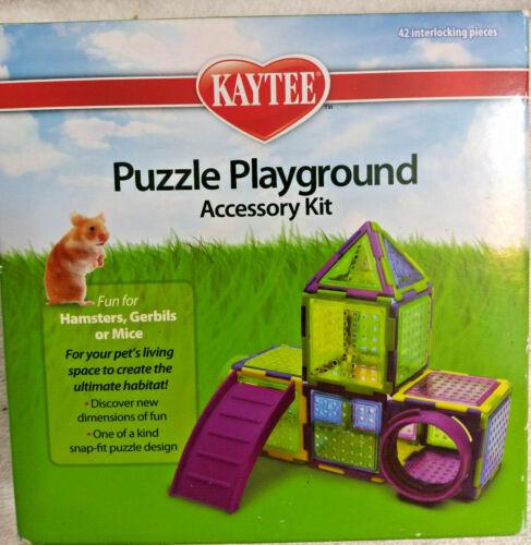 Kaytee Run-Puzzle Playground Accessory KIT Hamsters Gerbils Mice Exercise Kit