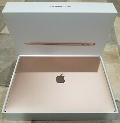 "Apple MacBook Air 13.3"" - 256GB SSD - Intel i5 8th Gen - 8GB - MVFN2LL/A - Gold"