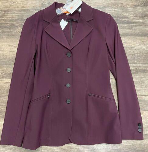 RJ Classic Victory Show Coat - Ladies 4R - Cabernet