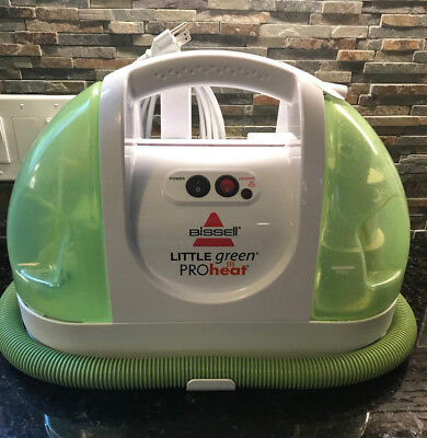 (Bissell Little Green ProHeat Carpet and Upholstery Cleaner Works Clean)