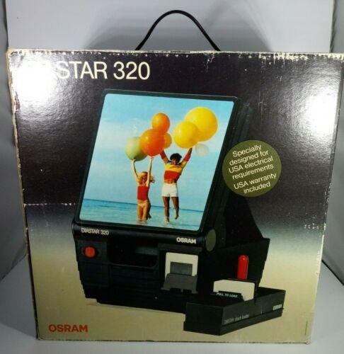 Diastar 320 Slide Projector - NIB