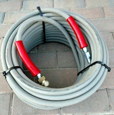 100 Hot Water Pressure Washer Hose 2 Wire 6000 Psi 38 Flextral Super Jet