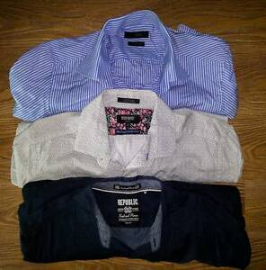 Mix of Blaq, Brooksfield & Oxford Mens Shirts & Ties Stanmore Marrickville Area Preview