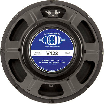 "Eminence Legend V128 12"" Guitar Speaker 8 Ohm"