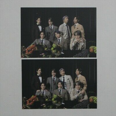 BTS Official Borahae Gift Map Of The Soul 7 On Broadcast Photocard Group 1+2 Set