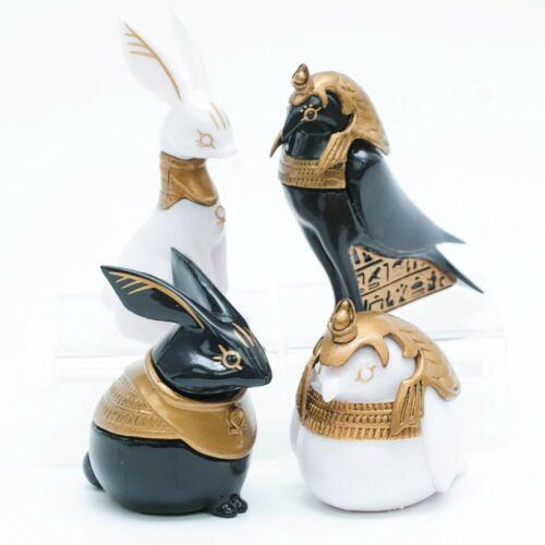 Blind Box Toy Egyptian God Rabbit Wenet Horus Bird Mini Statue 1 Random Figure