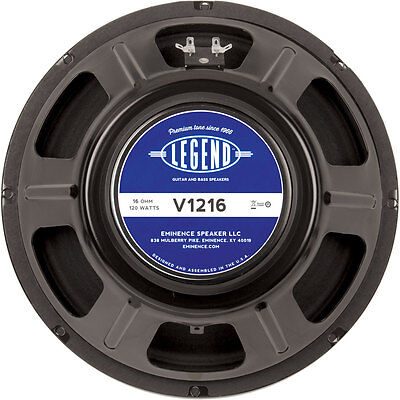 "Eminence Legend V1216 12"" Guitar Speaker 16 Ohm"