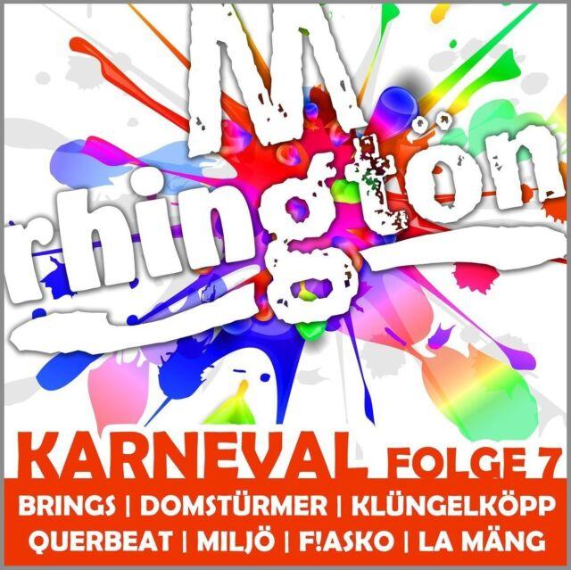 RHINGTÖN KARNEVAL FOLGE 7 (BRINGS, QUERBEAT, MILJÖ,...)  CD NEU