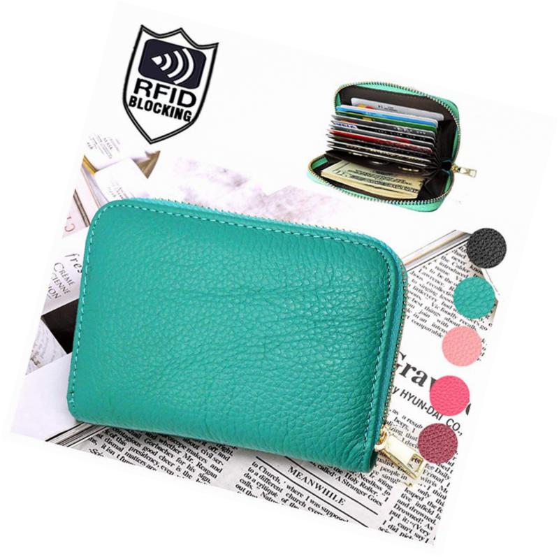 👜RFID Wallet for Women, Best Genuine Leather RFID Blockin