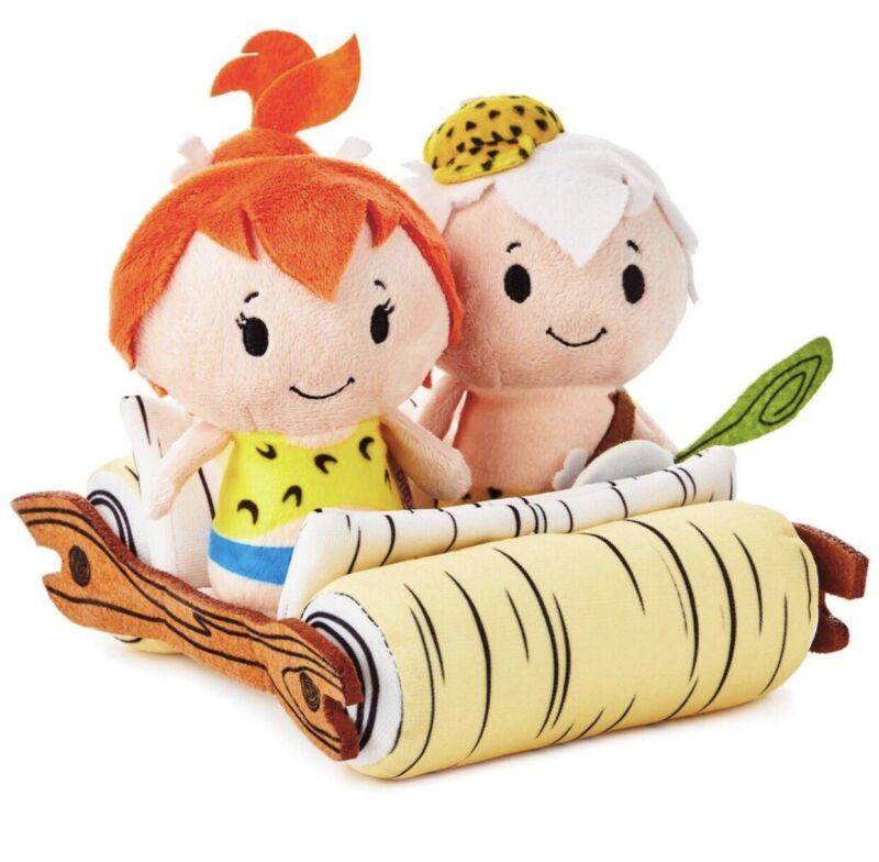 The Flintstones PEBBLES & BAMM-BAMM Itty Bittys Plush Set by Hallmark