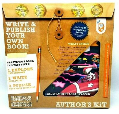 Write and Publish Your Own Book Authors Kit Write Brain Books Publish New