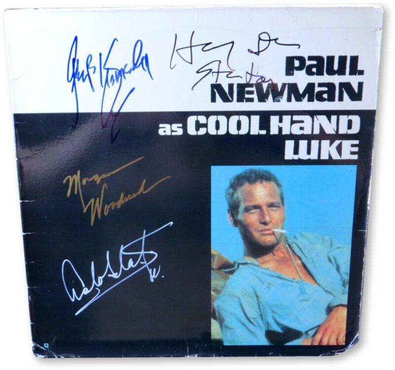 Cool Hand Luke Multi Autographed Laserdisc Cover Kennedy Stanton JSA GG68715