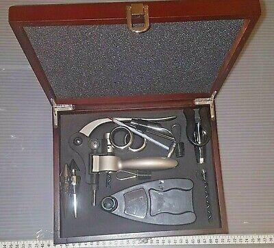 Wine Opener Set w/ Rabbit Corkscrew, Wine Stoppers & other Accessories