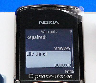 ORIGINAL NOKIA 8800 SIROCCO DARK EDITION RM-165 HANDY MOBILE PHONE SWAP NEU NEW Nokia 8800 Sirocco Mobile