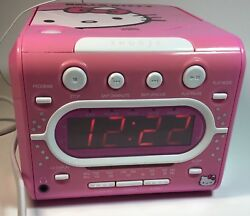**CD PLAYER DOES NOT WORK** HELLO KITTY KT2053A AM/FM Stereo Alarm Clock Radio