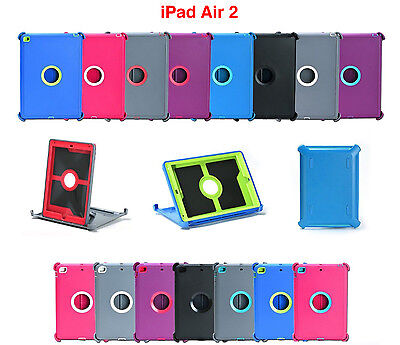 For Apple iPad Air 2 2nd Gen Protective Case Cover Stand Fits Otterbox Defender