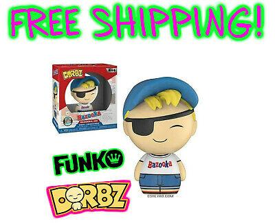 Bazooka Joe Bubble Gum Advertisement Funko Dorbz Vinyl Figure Collectible NEW  - Bazooka Bubble Gum