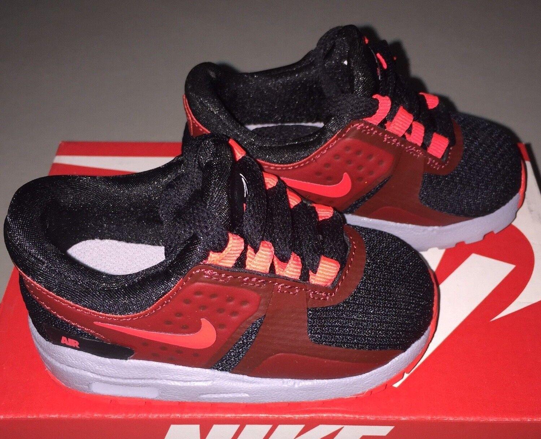 Baby Boys Nike Air Max Essential Shoes Toddler size 4 c Max Red / Black NIB