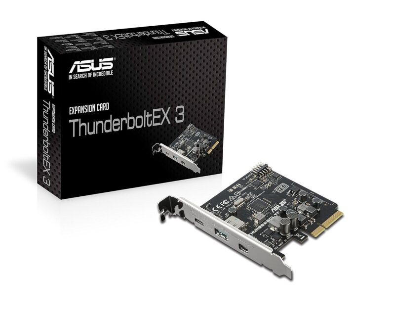 Asus Expansion Card for Z170 & X99 Motherboards [ThunderboltEX 3]