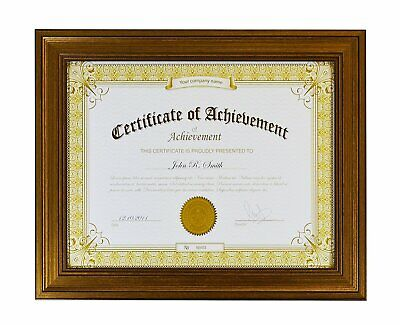 Golden State Art, Classic Photo Frame to Display Certificate