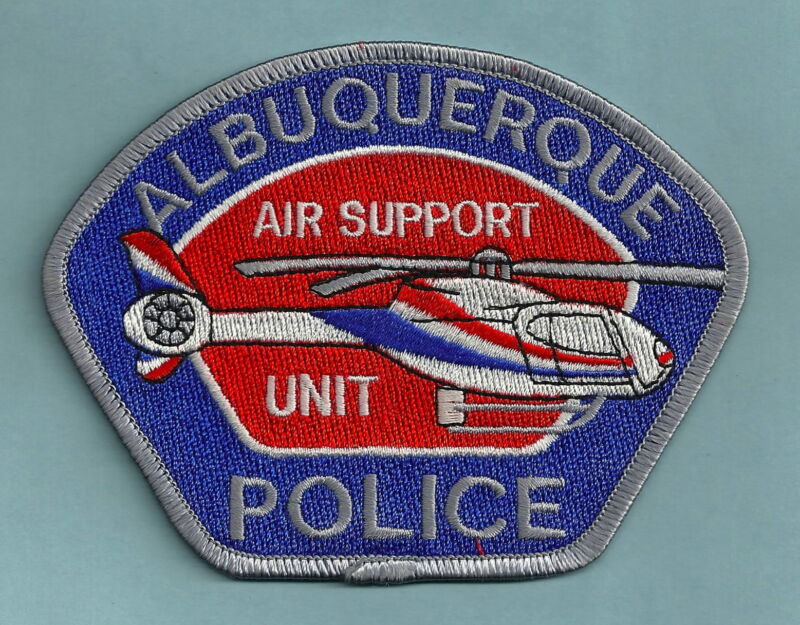 ALBUQUERQUE NEW MEXICO POLICE AIR SUPPORT UNIT HELICOPTER SHOULDER PATCH
